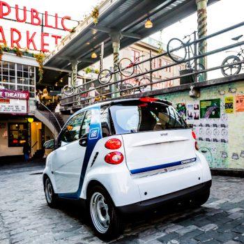 Coche eléctrico de Car2go