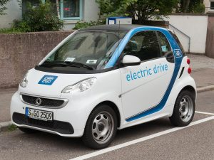 Coches electricos Smart de Car2go